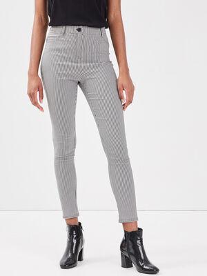 Pantalon legging blanc femme