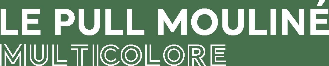 LE PULL MOULINÉ MULTICOLORE