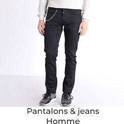 Pantalons et Jeans Homme