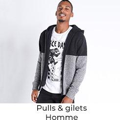 Pulls et Gilets Homme