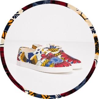 ChaussuresFemme PanafricaXBonobo Pourelle