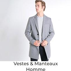 Vestes et Manteaux Homme