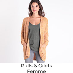Pulls et Gilet Femme