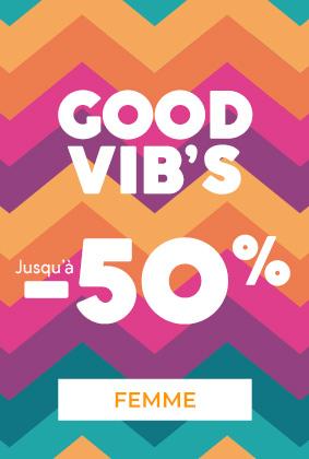 GOOD VIB'S jusqu'à -50%