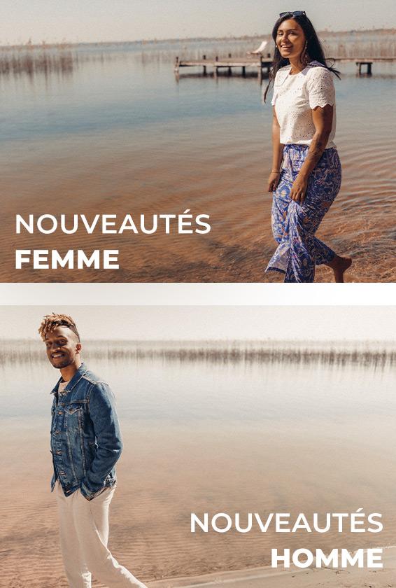 Nouveautés Femme et Homme