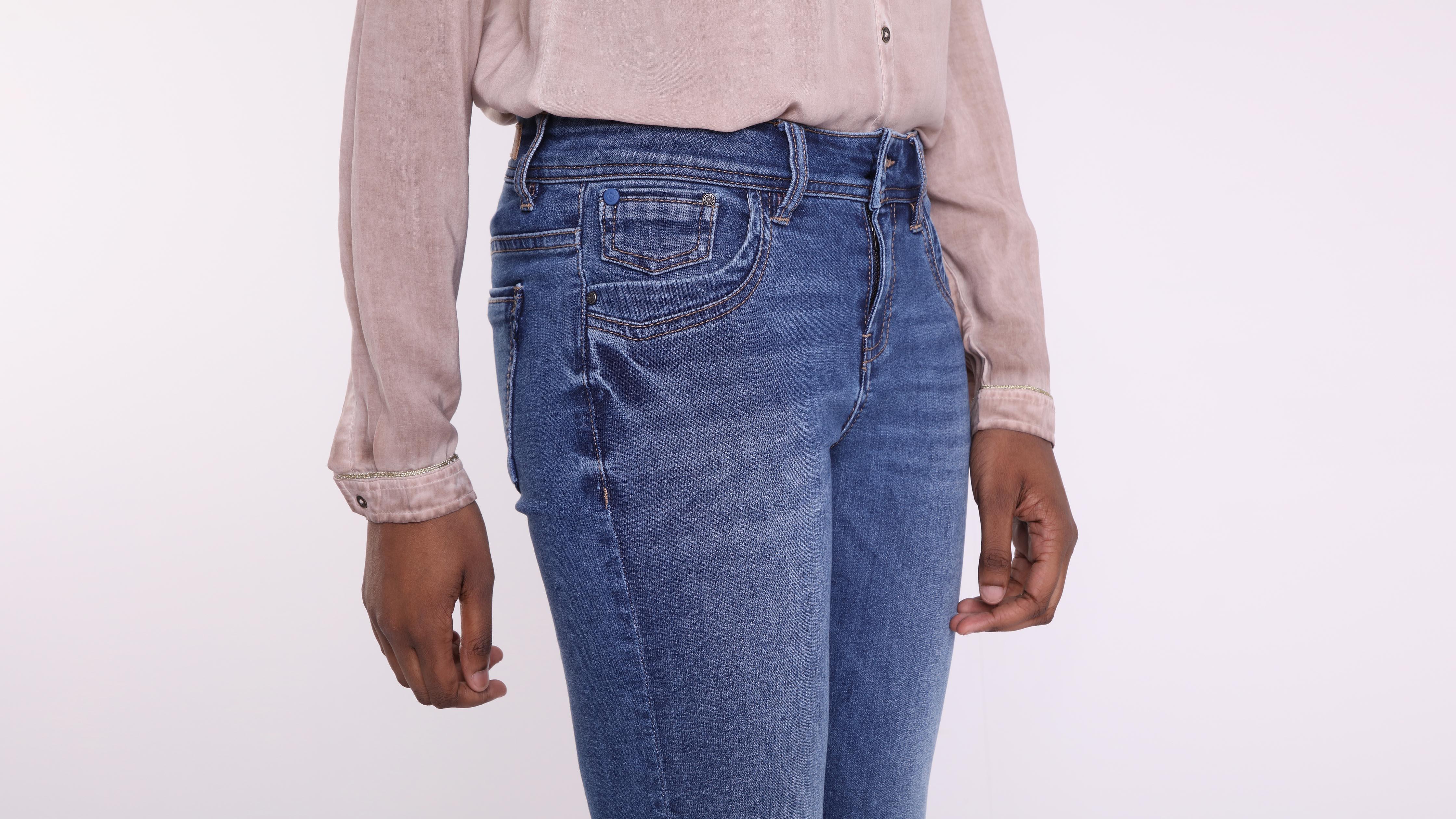 Denim Used Jeans Instinct Stone Bootcut Femme 80XnZNwPOk
