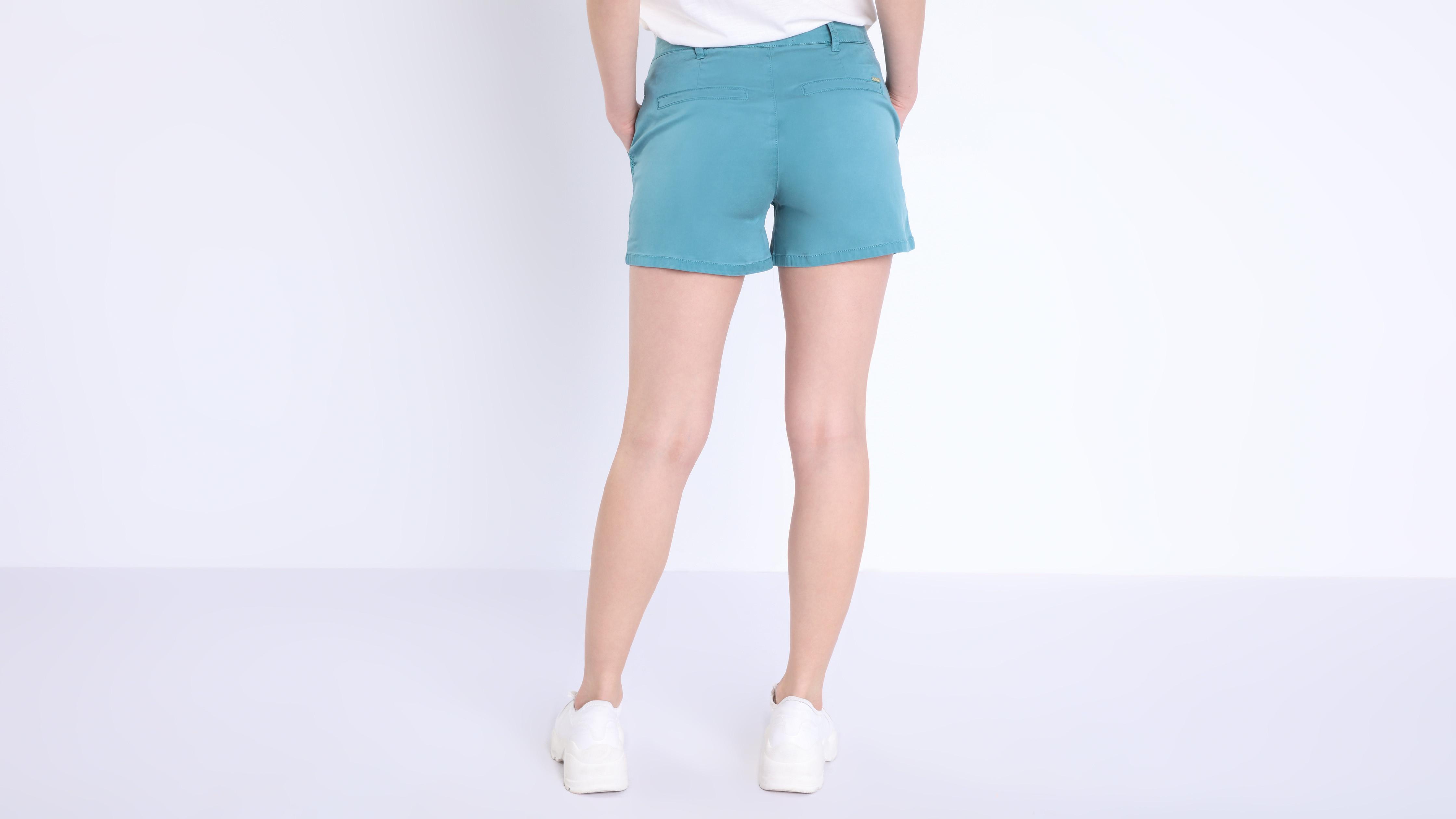 Pato Mujer Bolsillos Azul Shorts 4 Chino 4cal5rj3q u35T1lJcFK