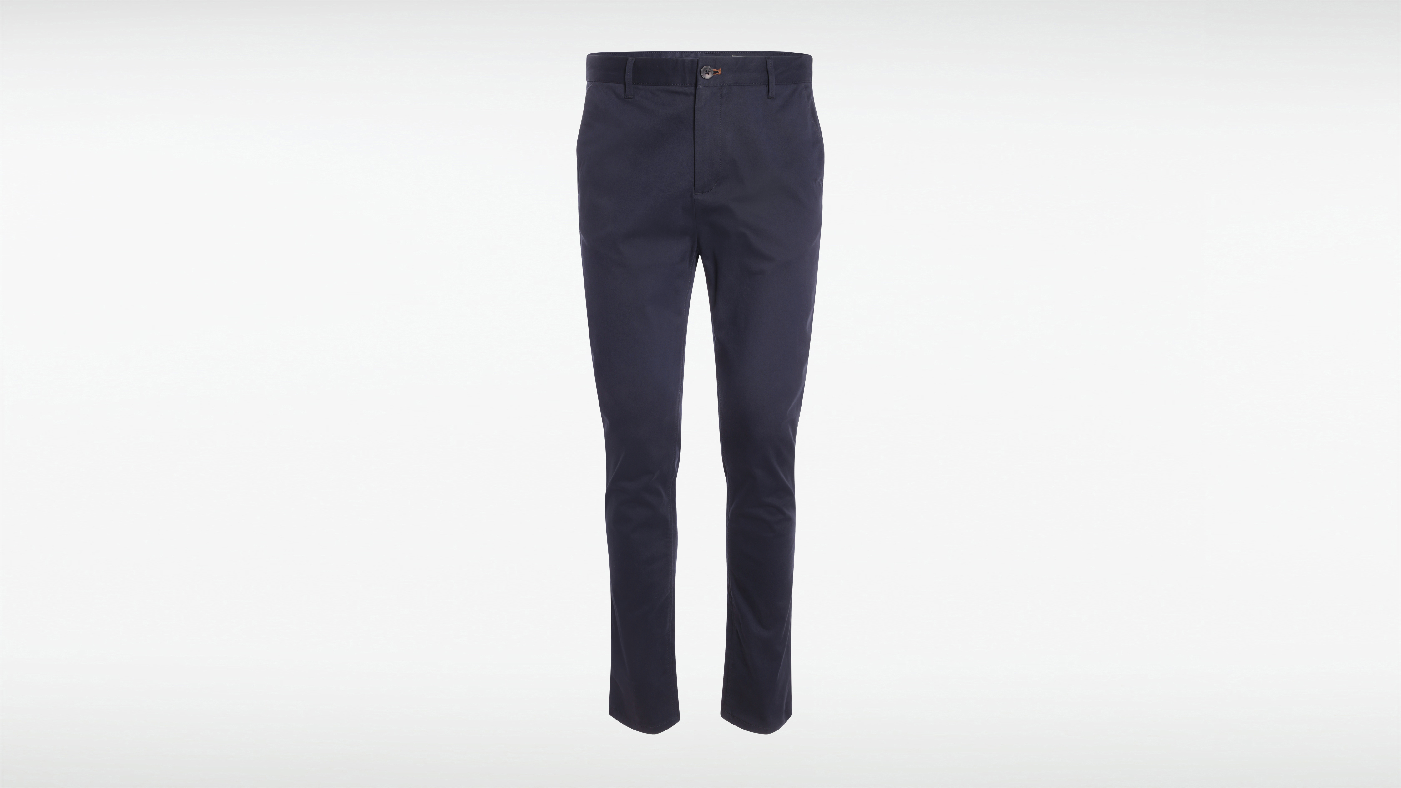 Pantalon Bleu Chino Homme Chics Détails Marine m8nN0w