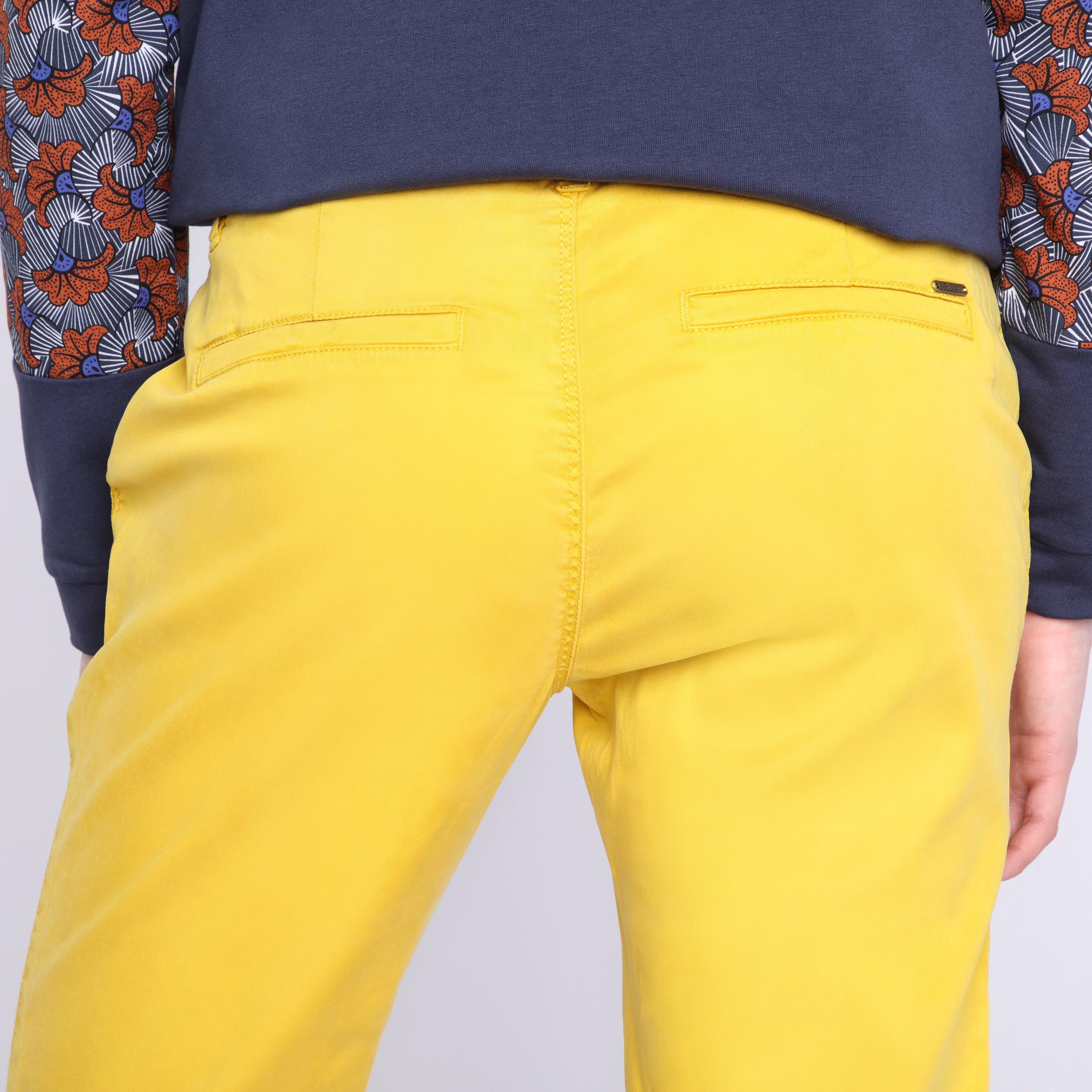 Amarillo Mujer Chino Pantalones Lemon Ftkcu51lj3 Instinct rxBoWeQdC