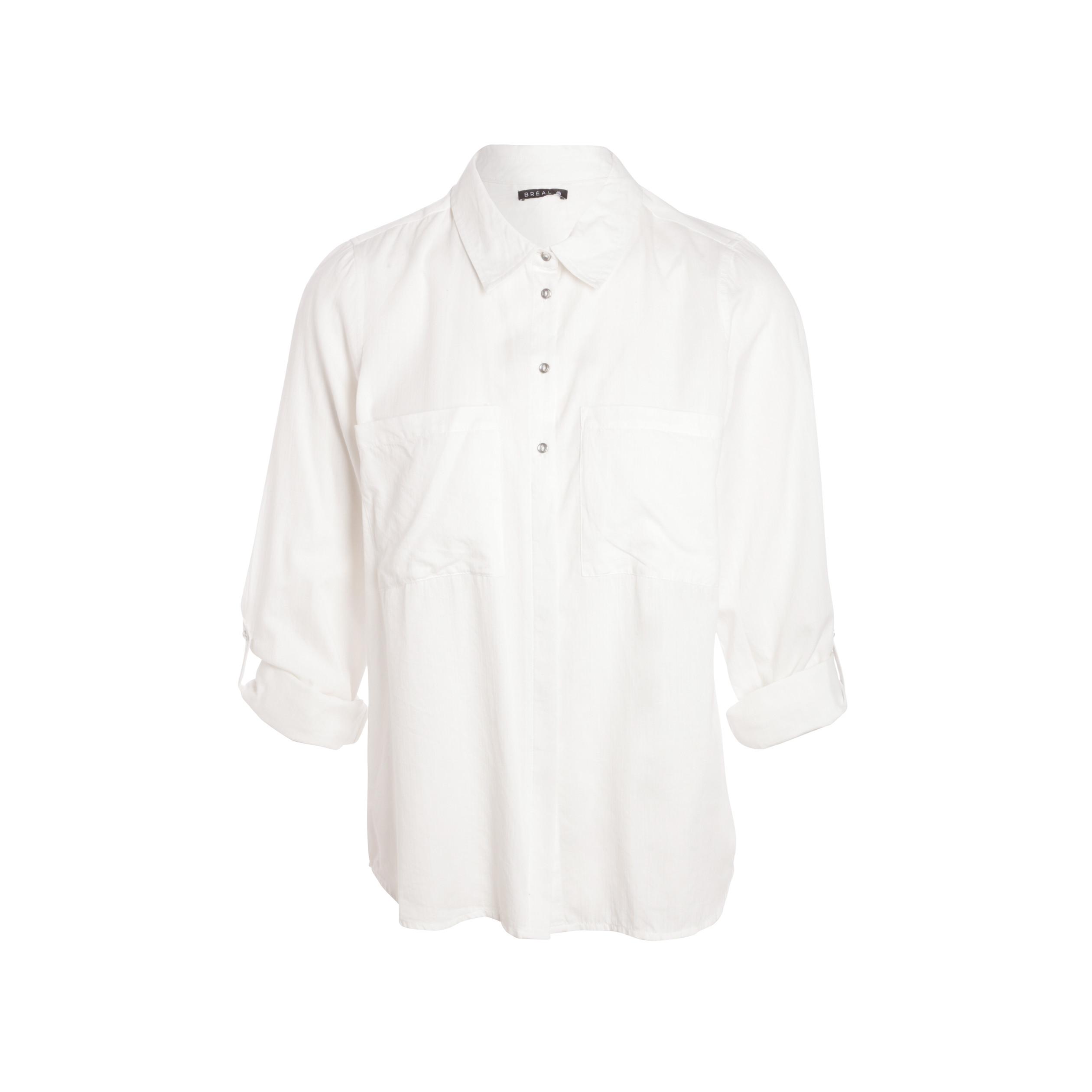 crudo mujer manga larga algodón Camisa para de de kZTuOPiX