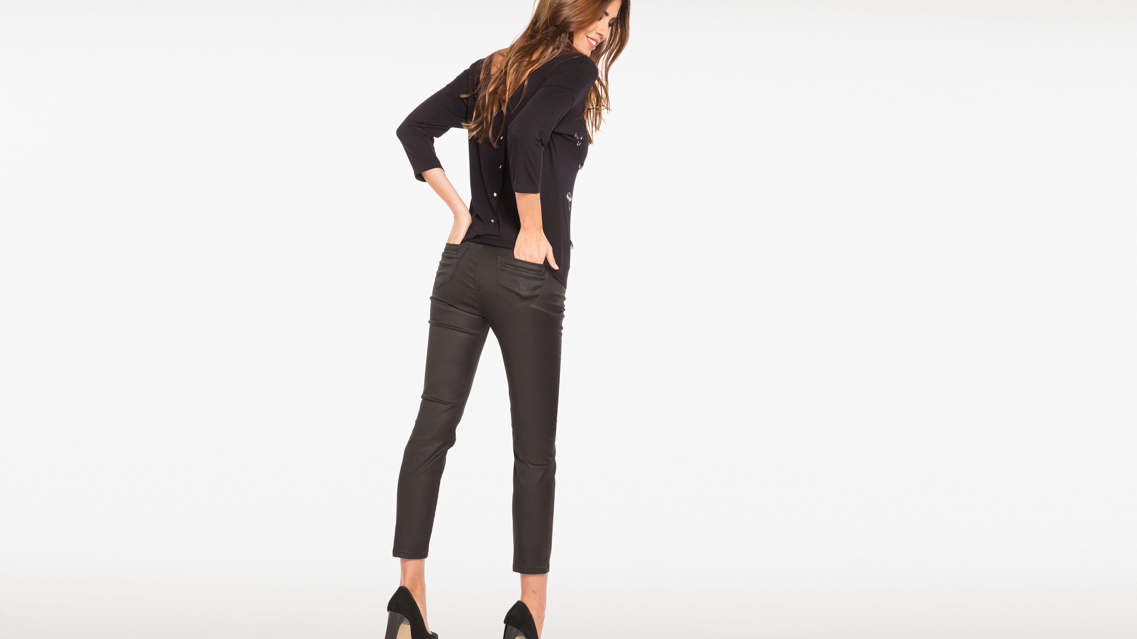 Enduit Femme 78ème Noir Pantalon 78ème Enduit Femme Pantalon Noir SpqzUMV