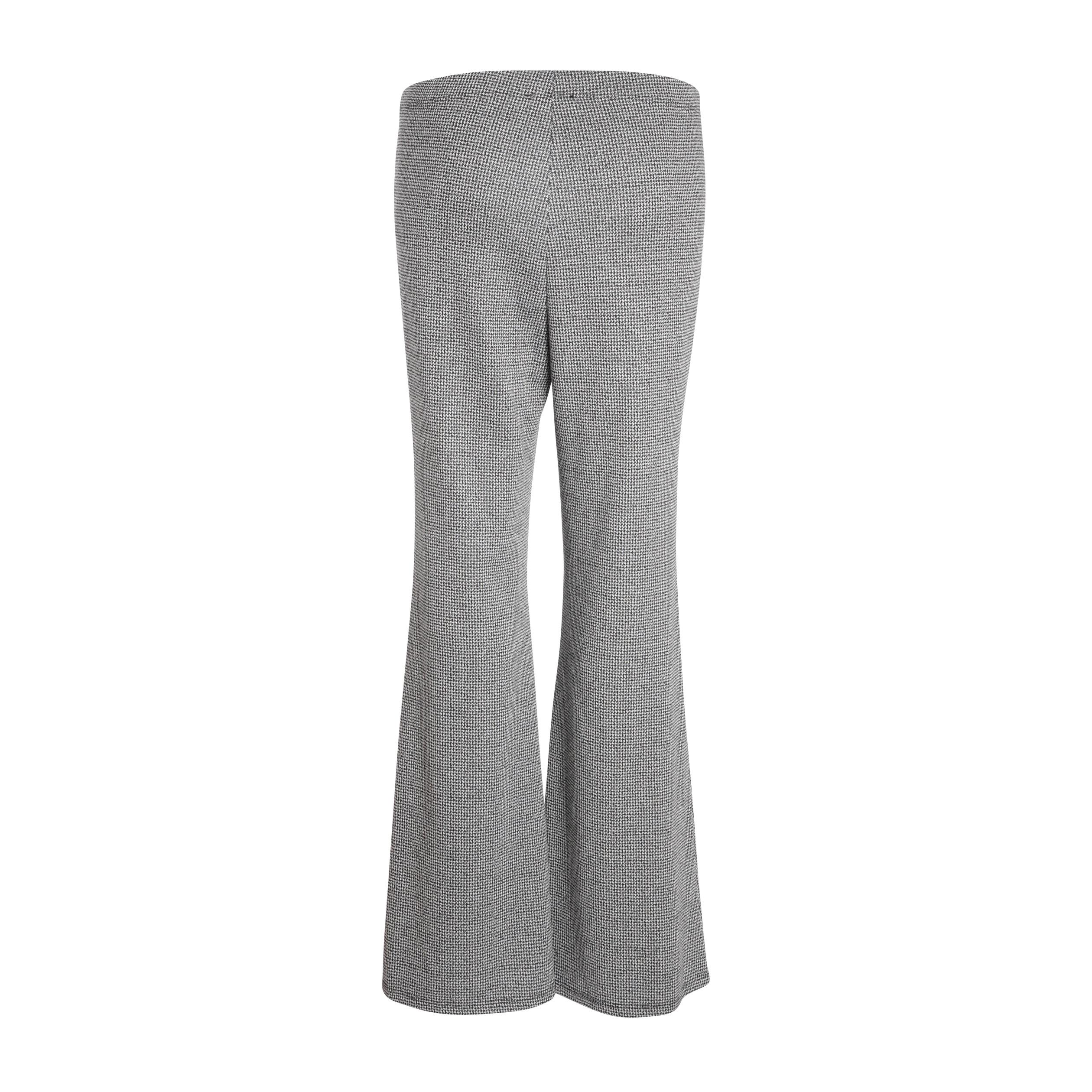 Femme Pantalon Noir Standard Ample Taille CsQrdxth