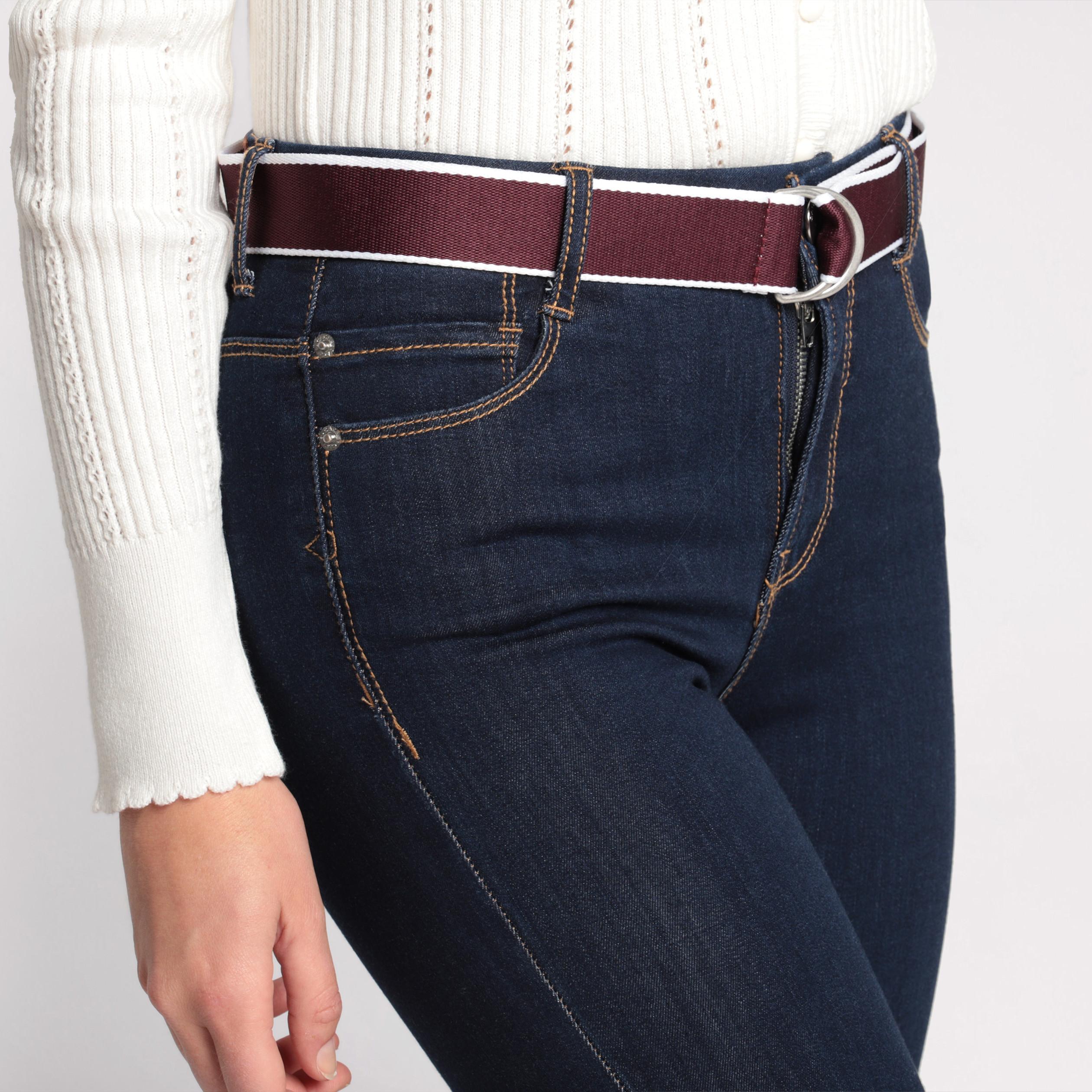 Mujer Jeans Denim Brut Alta Slim Cintura knOP80w